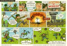 Blind Minefield - Between * Wars Comic War Comics, Popular Culture, Just For Laughs, Tape Recorder, My Love, Blind, Illustration, Behance, Illustrations