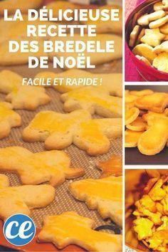 Facile Et Rapide : La Délicieuse Recette des Bredele de Noël.