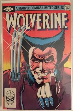 Wolverine (Ltd. Series) #1 - Marvel Comics - Dated 9/1/1982 - First Appearance.. in Collectibles, Comics, Bronze Age (1970-83), Superhero, X-Men | eBay #comics #comicbooks #marvel #wolverine