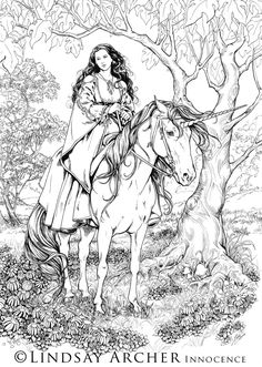 Ink drawing from a pic of a young me about 10 years ago. Things seemed a lot more innocent then and simpler. Unicorns being the protectors of the innocent, it seemed a fitting name for such an idea...