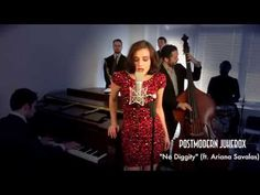 No Diggity - Vintage Jessica Rabbit- Style Blackstreet Cover ft. Ariana Savalas - YouTube