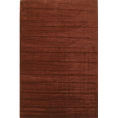 KAS Oriental Rugs Transitions Brick Red Horizon Rug