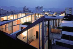 Nexus Housing, Fukuoka, Japan, 1991  from Selected Works: Rem Koolhaas | The Pritzker Architecture Prize