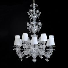 Murano Rezzonico Chandeliers the most magnificent and splendid chandelier from Venice