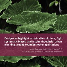 Wearable Device, Urban Planning, Design Quotes, The Creator, Vegetables, Inspiration, Biblical Inspiration, Vegetable Recipes, Urban Design Plan
