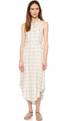 BB Dakota Lance Plaid Dress