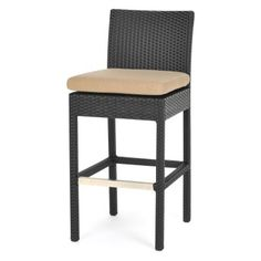 Caluco 28-Inch Maxime All-Weather Wicker Bar Stool
