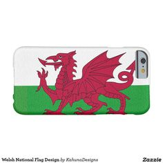 Welsh National Flag Design Barely There iPhone 6 Case