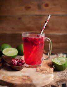 frozen raspberry lemonade #raspberrylemonade #lowcal