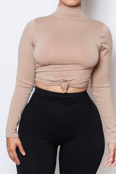 BABES TURTLENECK (10 colors) fits up to PLUS