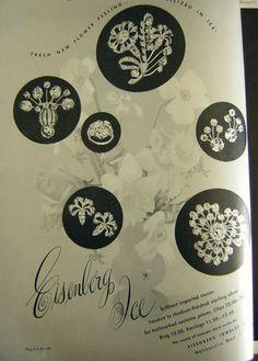 1948 Eisenberg jewelry ad