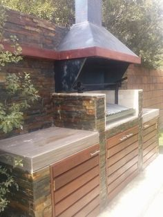 1000 images about quincho on pinterest barbecue area for Asadores para jardin de ladrillo