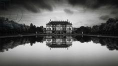 Palais Grosser Garten - Study 2, Dresden, Germany, 2015 (b/w photo) / Photo © Ronny Behnert / Bridgeman Images