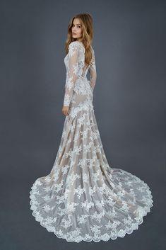 Mietta - Abito da Sposa Mezza Sirena - Vestito da Sposa in Pizzo e Tulle  ea5fe0ab8a0