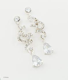 Mooie spiraal achtige oorbellen voor het afmaken van je look, deze oorbellen zijn verkrijgbaar bij www.princesses.nl #wedding #love #trouwen #bruiloft #inspiratie #inspiration
