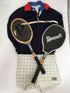 Fila BJ Mk2 Bancroft Borg racket OG bj shorts 1970's 1980's