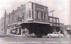 1950s Corner Drug Store in Black Rock, Arkansas