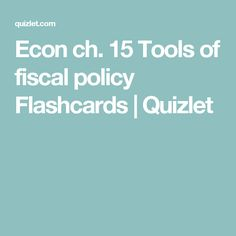 11 Best Fiscal Policy images in 2015 | United states
