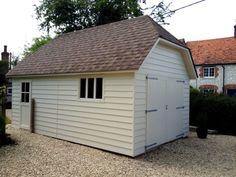 Suffolk Timber Garage