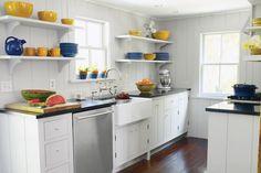 Otras ideas y consejos para cocinas pequeñas 2015 cocina blanca