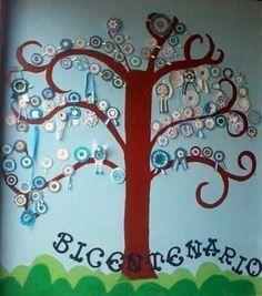 Recursos para el bicentenario de la independencia argentina #decoracionjardinesfiesta