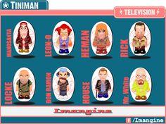 $5 C/U (Precio x Mayor) Televisión TINIMAN.