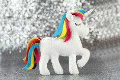 Unicorn Sewing Pattern  Felt Unicorn Plush  Unicorn Toy