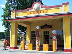 Shell Station - Gilmore Car Museum - Hickory Corners, MI