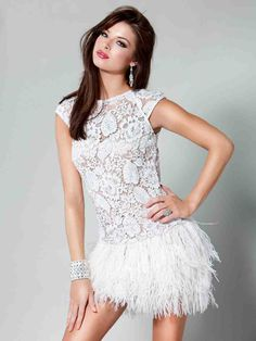 Sue Wong Strapless Feather Dress Bloomingdales Wedding Dresses