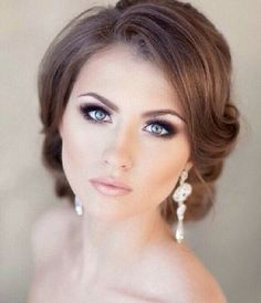 28 Neutral Wedding Makeup Ideas | HappyWedd.com #PinoftheDay #neutral #wedding #makeup #ideas #WeddingMakeup