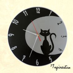 Vynil, Oclock, Decoration, Tours, Etsy, Vintage, Wall, Boutique, Wall Clocks