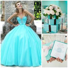 Are Tiffany & Co. jewelry bracelets and necklaces on your birthday wishlist? You'll soon realize that there are so many classy ideas to plan your very own tiffany blue Quinceanera. Read along to find the best dresses, decor, cakes, invitations and more to plan one of the most unforgettable events in your life!