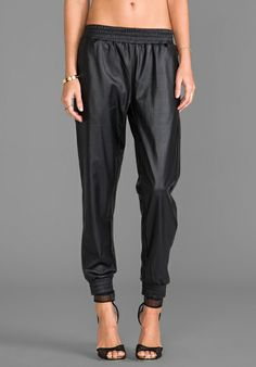 $119.00 Lovers + Friends for REVOLVE Track Pants in Black