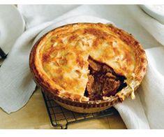 Beef, mushroom and red wine pie, Australian made