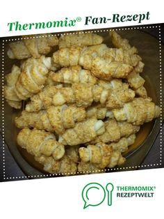 Mini-Käsehörnchen Suchtfaktor (!) von krustinja. Ein Thermomix ® Rezept aus der Kategorie Backen herzhaft auf www.rezeptwelt.de, der Thermomix ® Community.