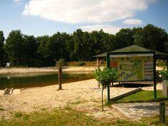 Het meertje op camping Parcival