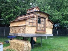 A chicken coop or a mansion?