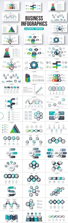 850 Quality, Customizable Infographics Templates - only $19! - MightyDeals