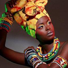 AFROPOLITAN - Burundi Head wrap