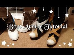 How to Make Boot/Shoe Armor with Worbla - YouTube