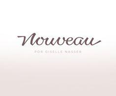 Nouveau Identity by Cyla Costa, via Behance