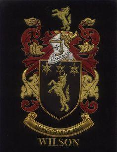 Wilson Coat of arms , Wilson Family Crest