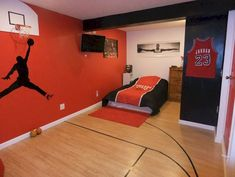 Awesome 50 Sport Bedroom Design Ideas Remodel for Boys https://livingmarch.com/50-sport-bedroom-ideas-boys/