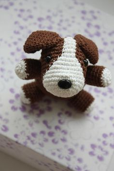 Pattern is available in my Etsy shop: Cute Amigurumi Puppy Pattern I´m working on...