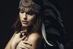 Nicholas Maggio | Photography | Recent Work The Lovecats Feat Kate Amundson #clothing ☾ ☼ #art ★ ❥ #bohemian #boho #gypsy #fashion #photography #tribal #earthy #colour #style #inspiration #feminine #collections #headdress