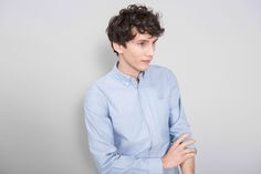 f6ce60a852b The ASKET Oxford Shirt  The classic Oxford Button Down Shirt. Blue Oxford  ShirtMinimal ClothingMinimal ...