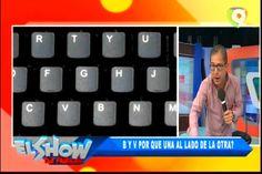 Análisis de Ivan Ruíz del por que la B y V están una al lado de la otra en los teclados