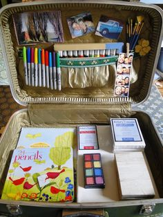 refurbished suitcase into a tool organizer ideas - Google Search