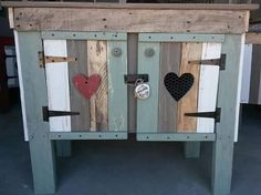 Hearts Funky Junk, Pallet Furniture, House, Hearts, Ideas, Cooking, Home, Wood Pallet Furniture, Thoughts
