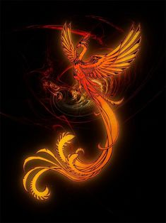 Phoenix Artwork, Phoenix Wallpaper, Phoenix Drawing, Phoenix Images, Dragon Koi Tattoo Design, Mystical Animals, Female Vampire, Bizarre Art, Phoenix Bird